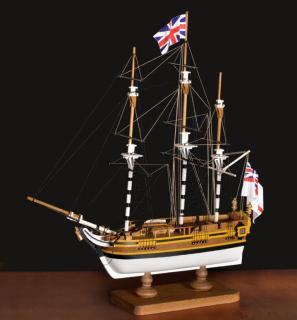 HMS Bounty First Step Bausatz