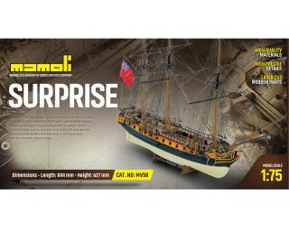 HMS Surprise Bausatz 1:75 Mamoli
