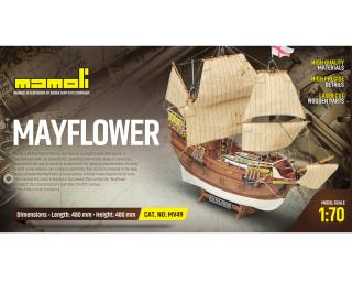 Mayflower Bausatz 1:70 Mamoli